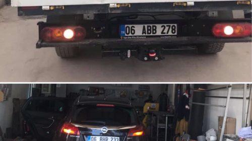 FORD TRANSİT OPEL INSGNIA çeki demiri takma MONTE ve ARAÇ PROJE FİRMASI Ankara